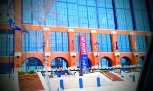 Lucas Oil Stadium Entrance
