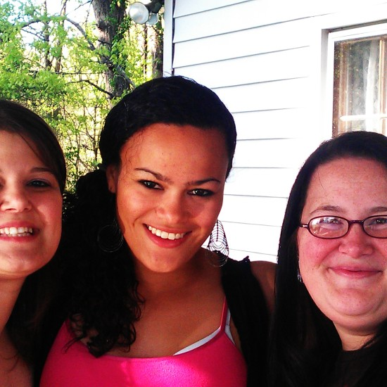 Ash (Their sister), Allie (Deb's daughter), and Sheri (Vick's daughter)