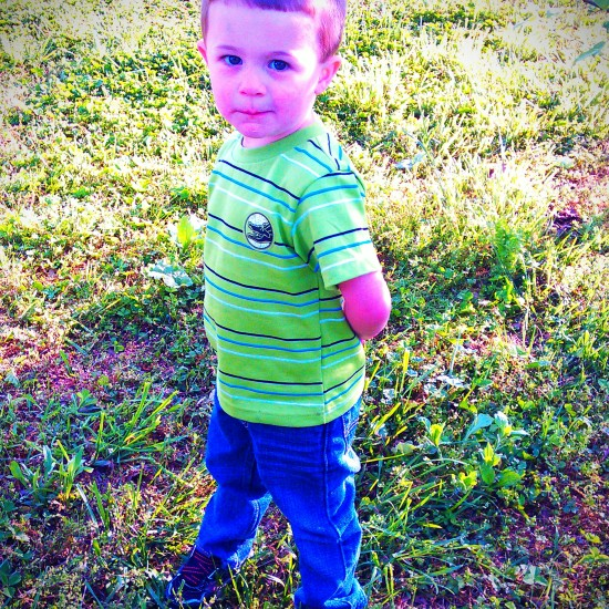 This is Miles. Ashley's son which is the boys' nephew