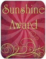Sunshine Blogger Award2