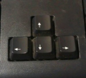 Friendly Arrow Keys