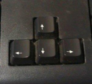 Friendly Arrow Keys