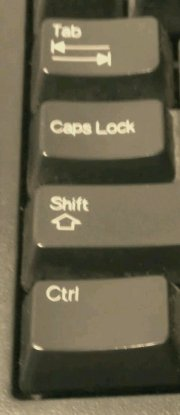 Left side of your keyboard