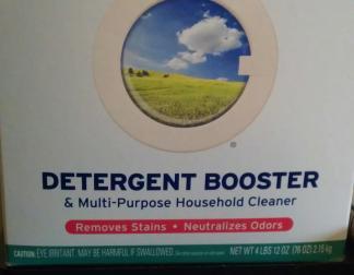 Detergent Booster
