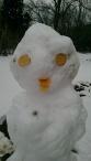 Snowlady duck-face Selfie