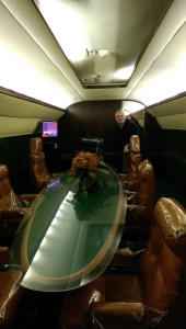 Inside the Lisa Marie Airplane