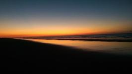 At the beach 5 am