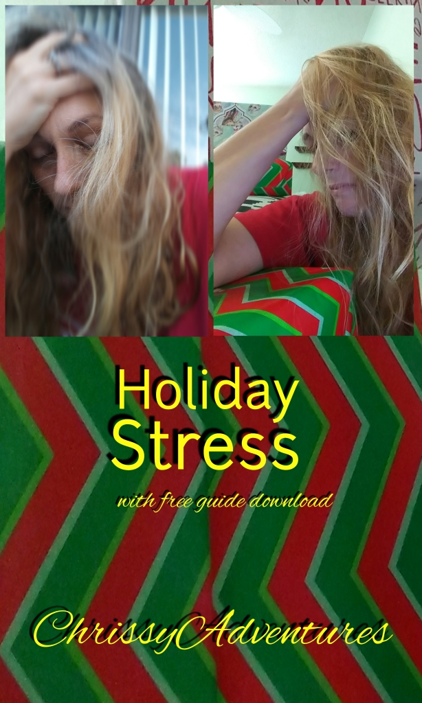 Holiday Stress ChrissyAdventures