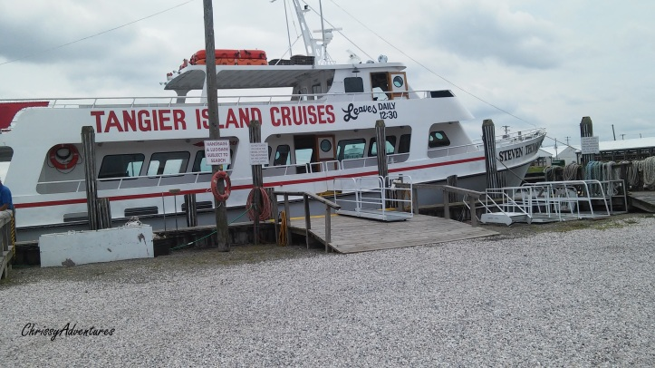 Tangier Island Cruise Boat