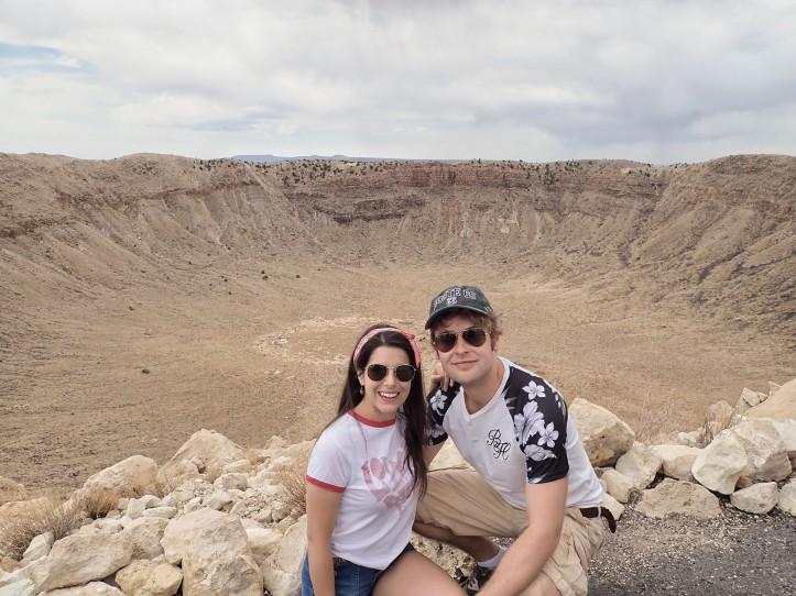 Meteor Crater National Landmark - Courtesy of TeamThomasTravels