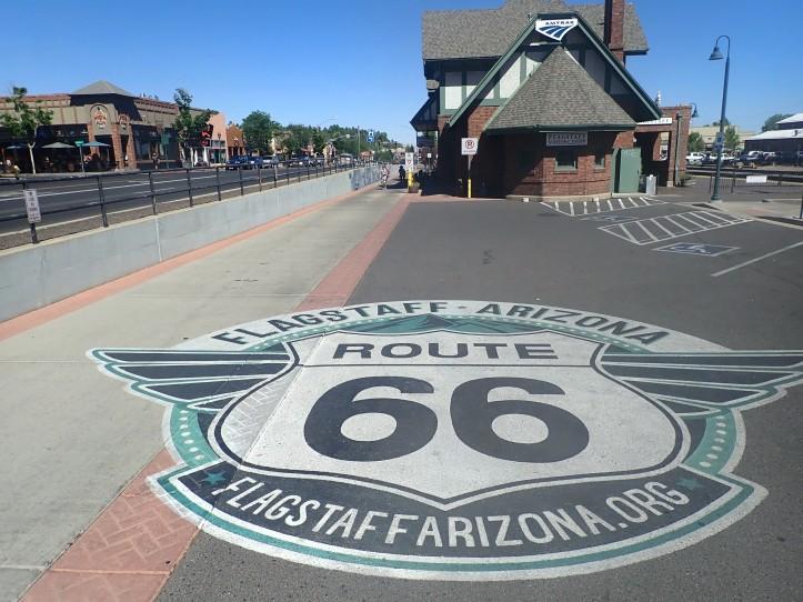Flagstaff Arizona Train Station