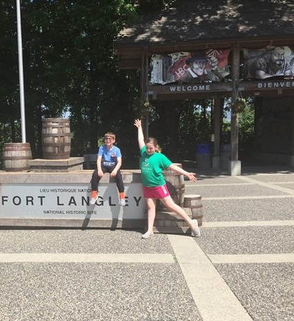 Fort Langley - courtesy of Kali of kalidesautelsreadsblog
