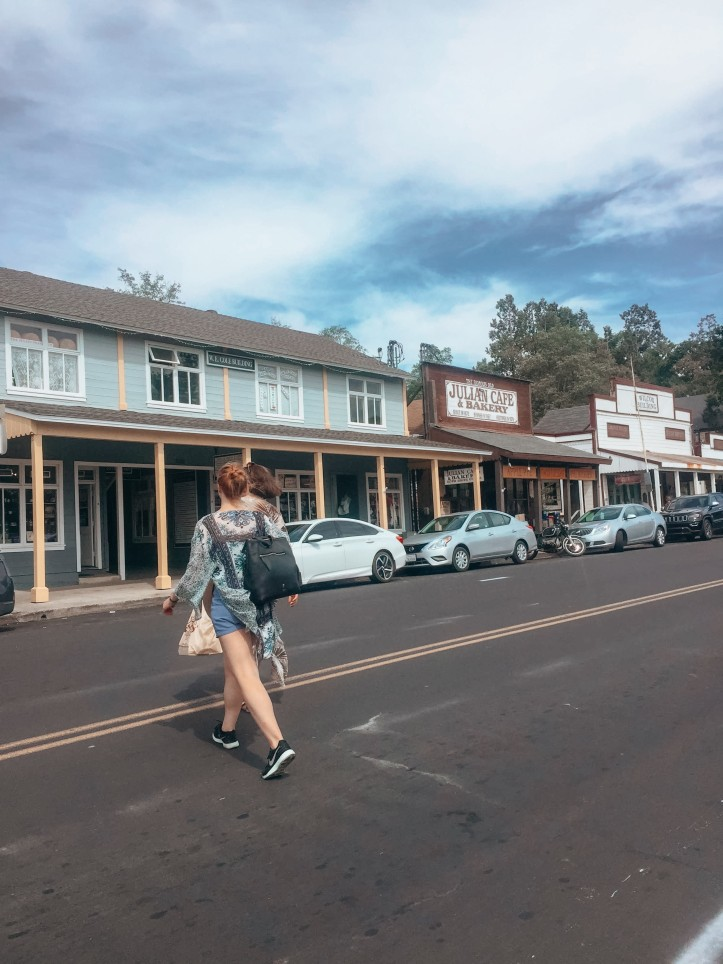 Main Street Julian California - Courtesy of Rachel and Nico of Averageslives
