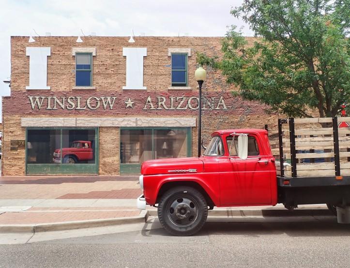 Winslow Arizona - Courtesy of TeamThomasTravels