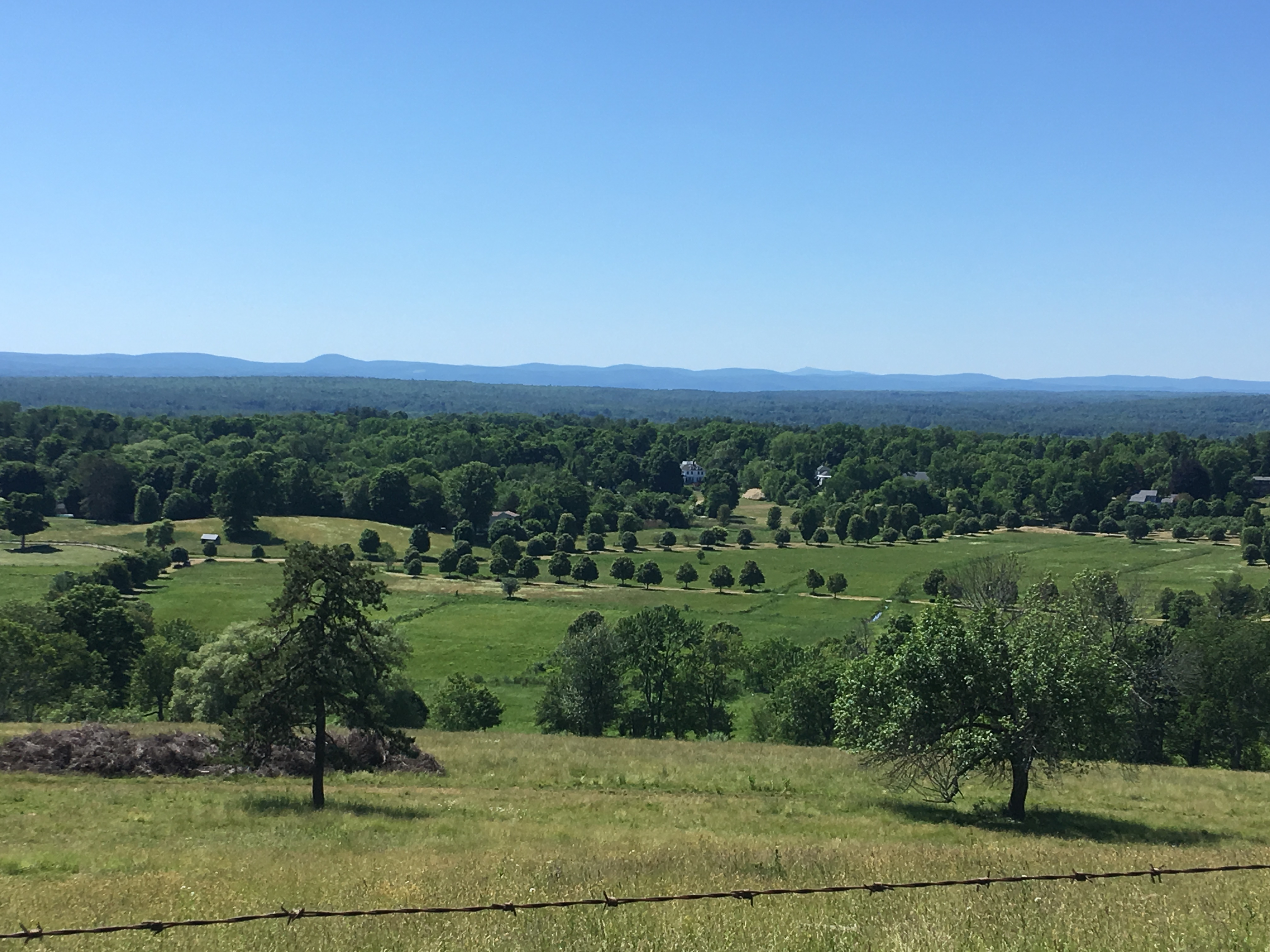 The view from Gibbet Hill in Groton Mass